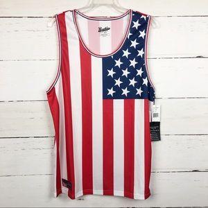 NEW Brooklyn Cloth Mfg. Co. USA Flag Tank M
